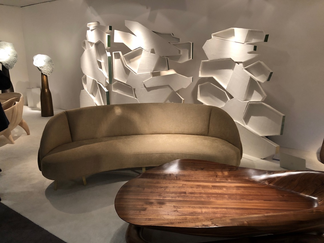 The Galerie BSL exhibit at The Salon Art+Design is a stunning design example.