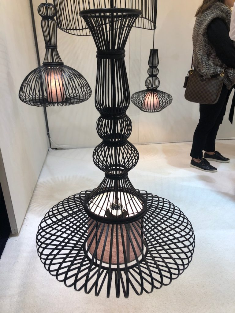 Global Lighting's pendant is a sample of the cool designs to be found at BDNY.