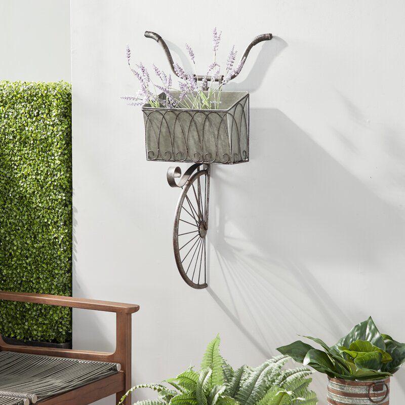 The Kirkendall bike planter