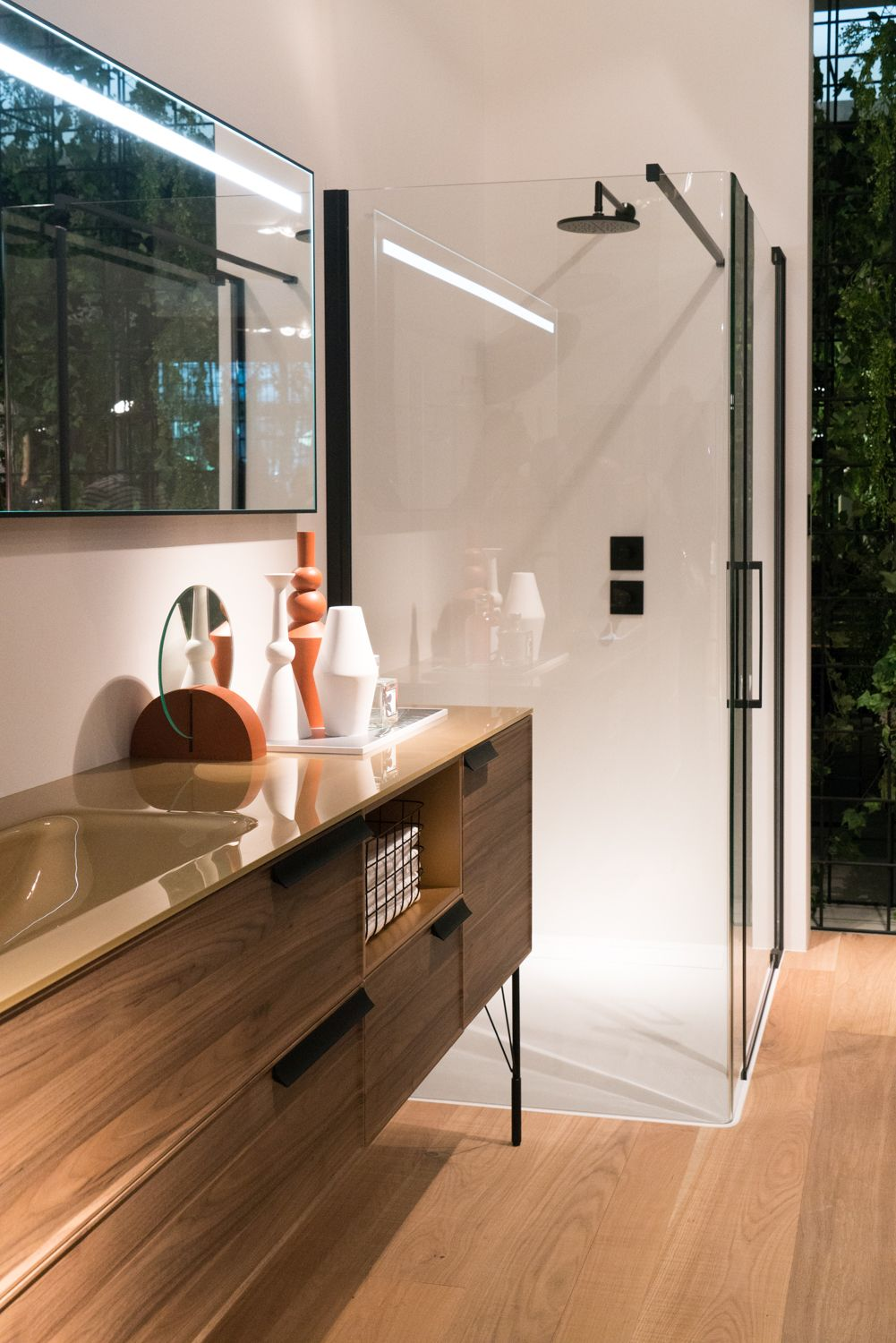 New bathroom designs make it easy to have a spa-like experience at home.