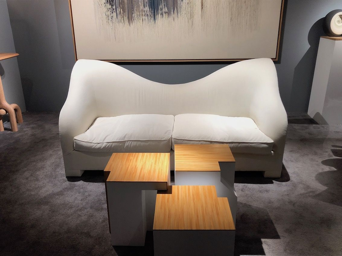 Spare, modern pieces offer a different kind of drama.