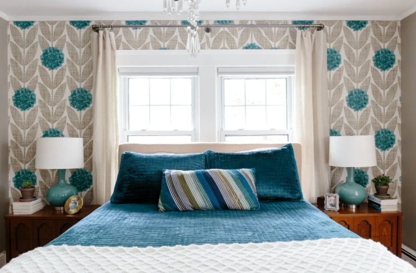 Peacock Blue Can Be Used In Any Room