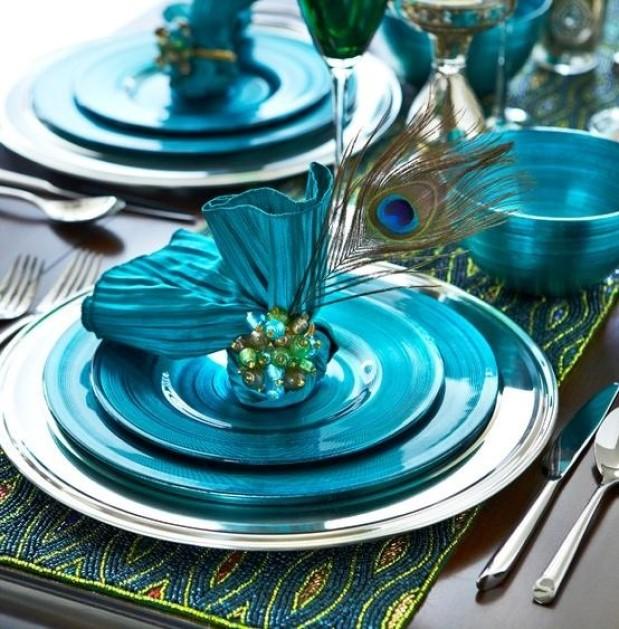 Purchase Peacock Table Décor