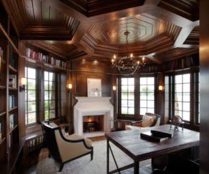 How To Successfully Integrate A Coffered Ceiling Into A Room's Interior Design