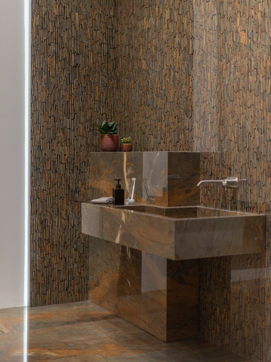 Tile innovations can be used to create spectacular bathroom designs.