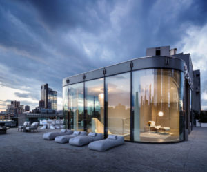 Expansive Views and a Full Rooftop Terrace Highlight Zaha Hadid NYC Penthouse