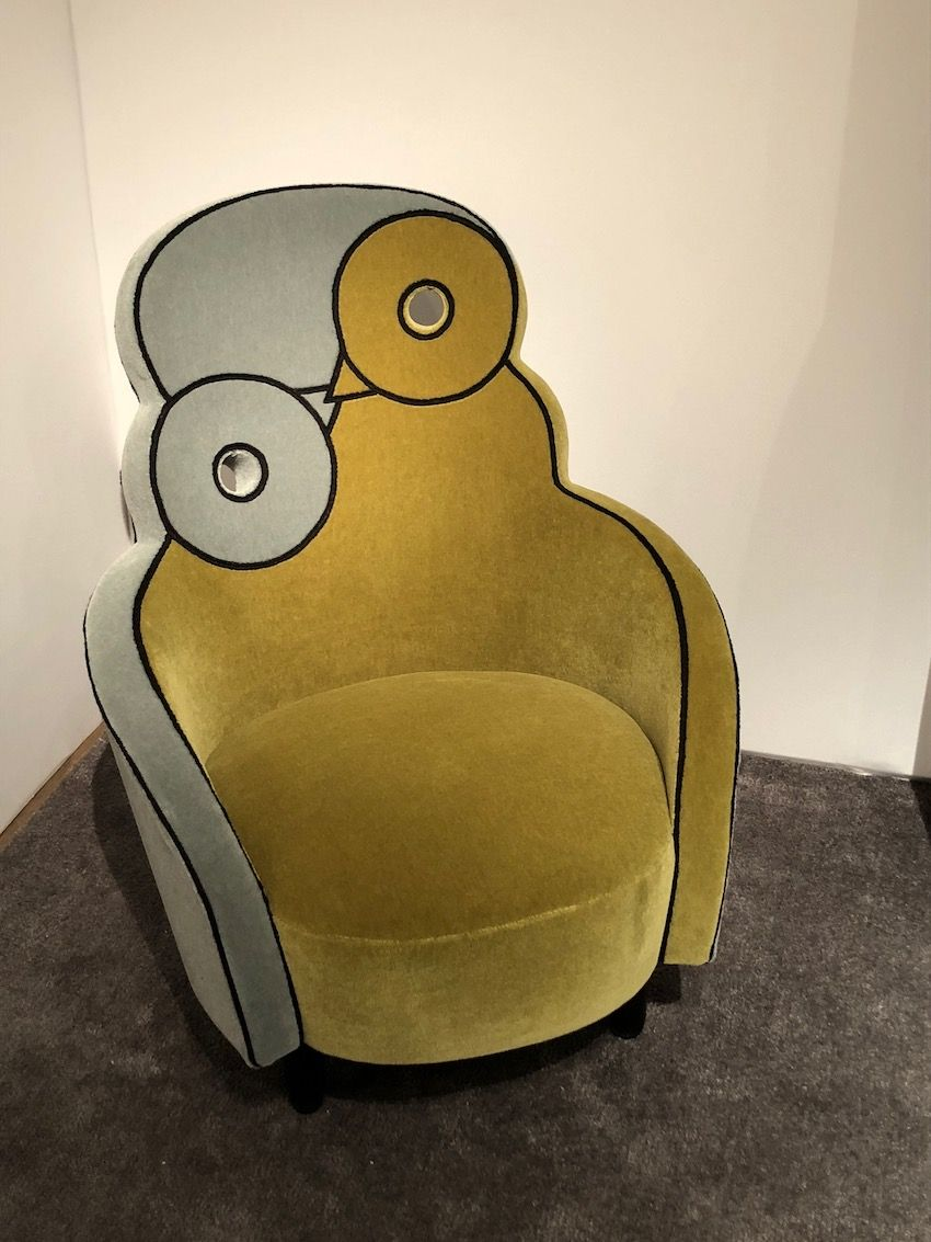 A limited edition of 30 chairs were made.