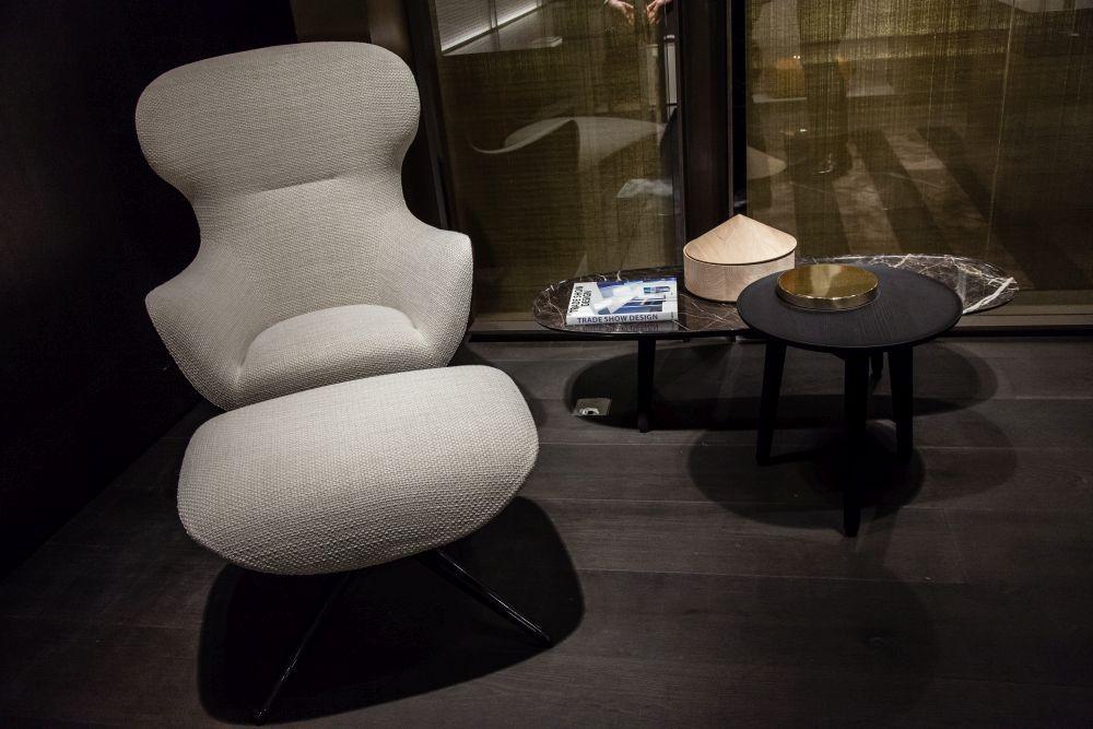 Bedroom Beige Accent Chair