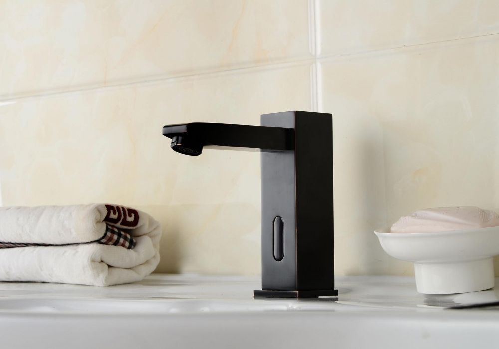 Touchless technology is making its way into the bathroom as well as the kitchen.
