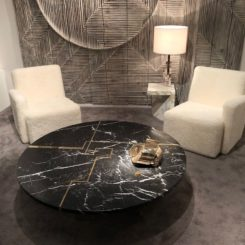 Galeri Negropontes marble coffee table