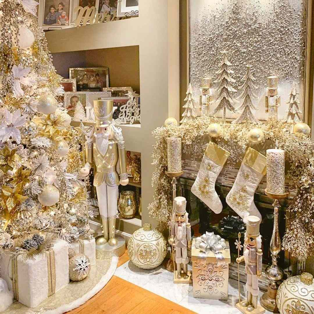 How To Update Your Holiday Decor With A Rose Gold Christmas Tree