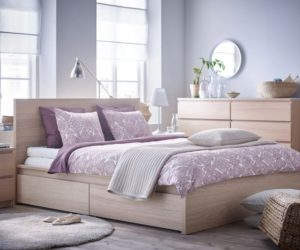 IKEA Malm Scandinavian Bedroom