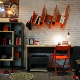 Musical themed boys room decor