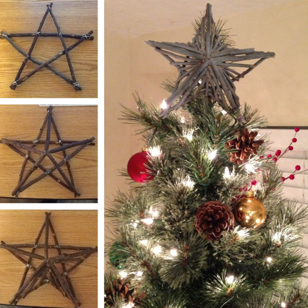 10 Unique Christmas Tree Toppers With Original DIY Designs