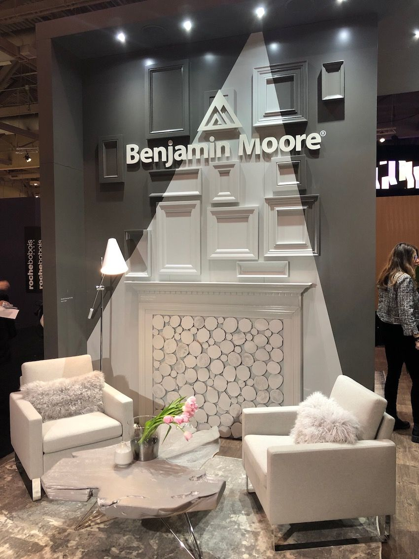 Benjamin Moore went for a neutral hue for its 2019 color.
