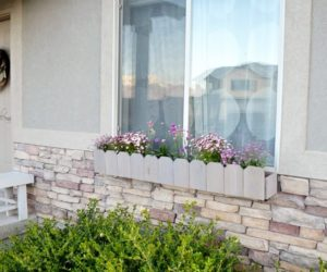 10 Charming Ways To Add Window Box Planters To Your House