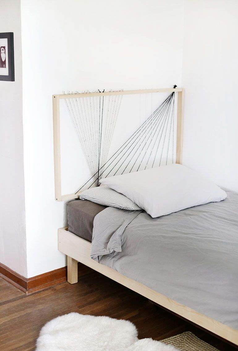 10 DIY Headboard Ideas For Creative Beginners