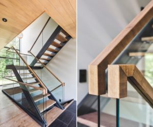 10 Stair Handrail Ideas With Glamorous Designs