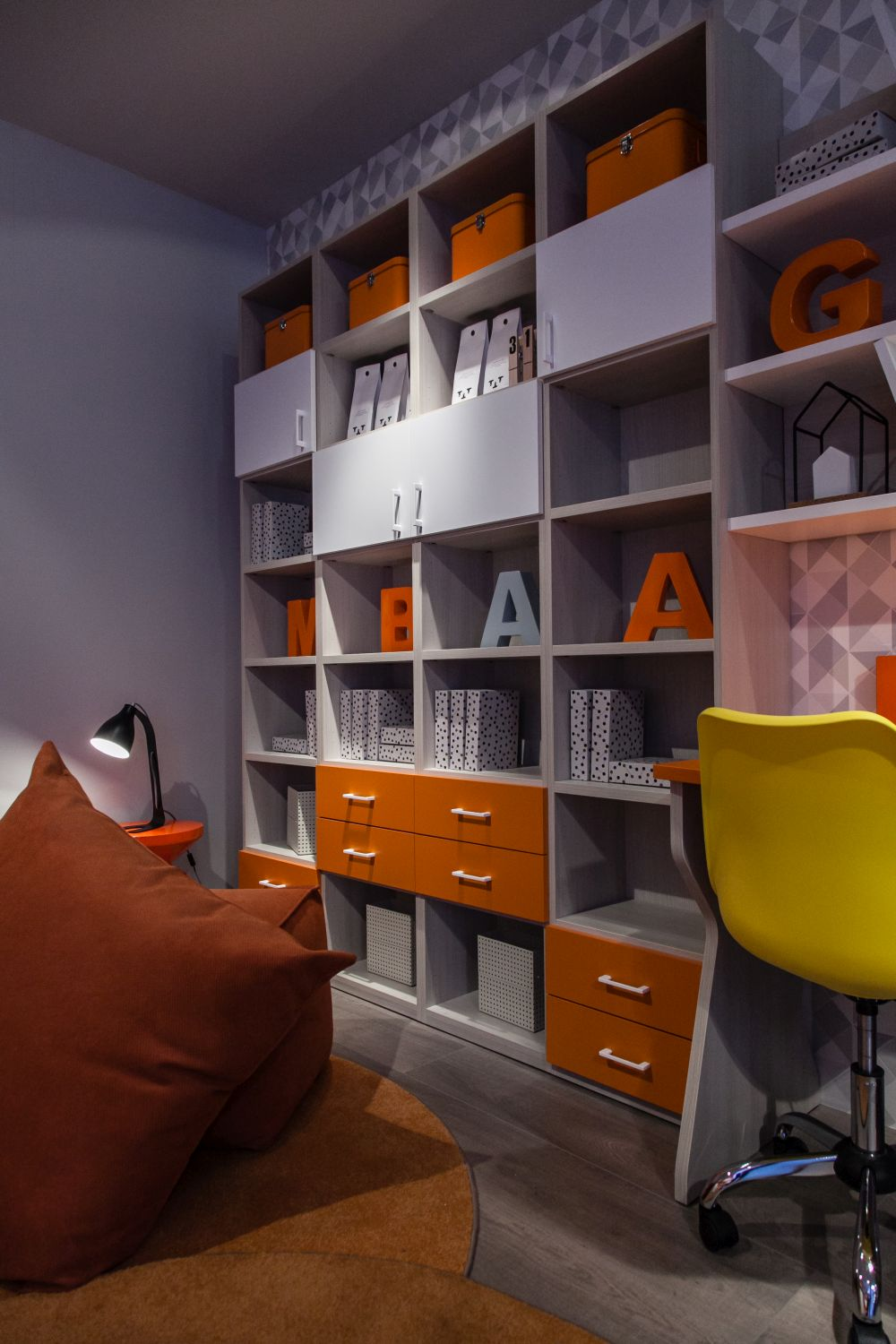 Bookcases are also great for storing and organizing documents and office supplies