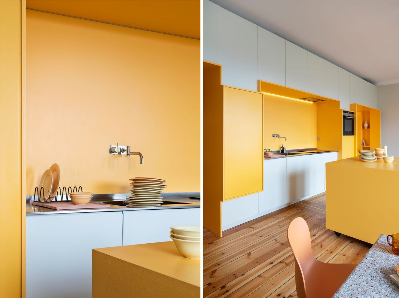 Colors in addition to having a cheerful and welcoming vibe the apartment is also very bright