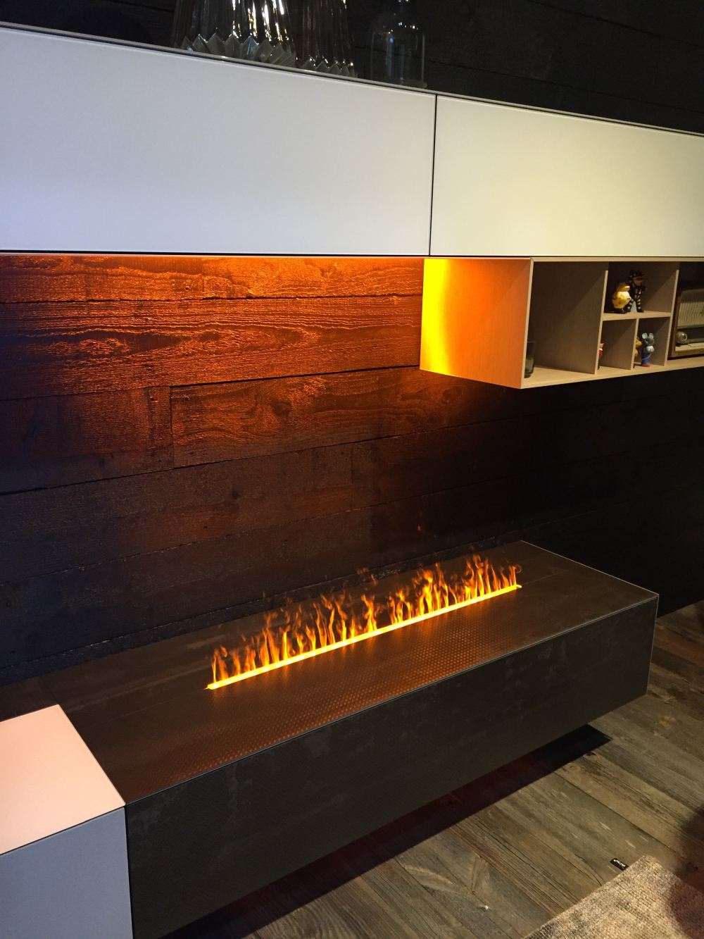 """Even homes in warmer climates can use this kind of """"fire."""""""