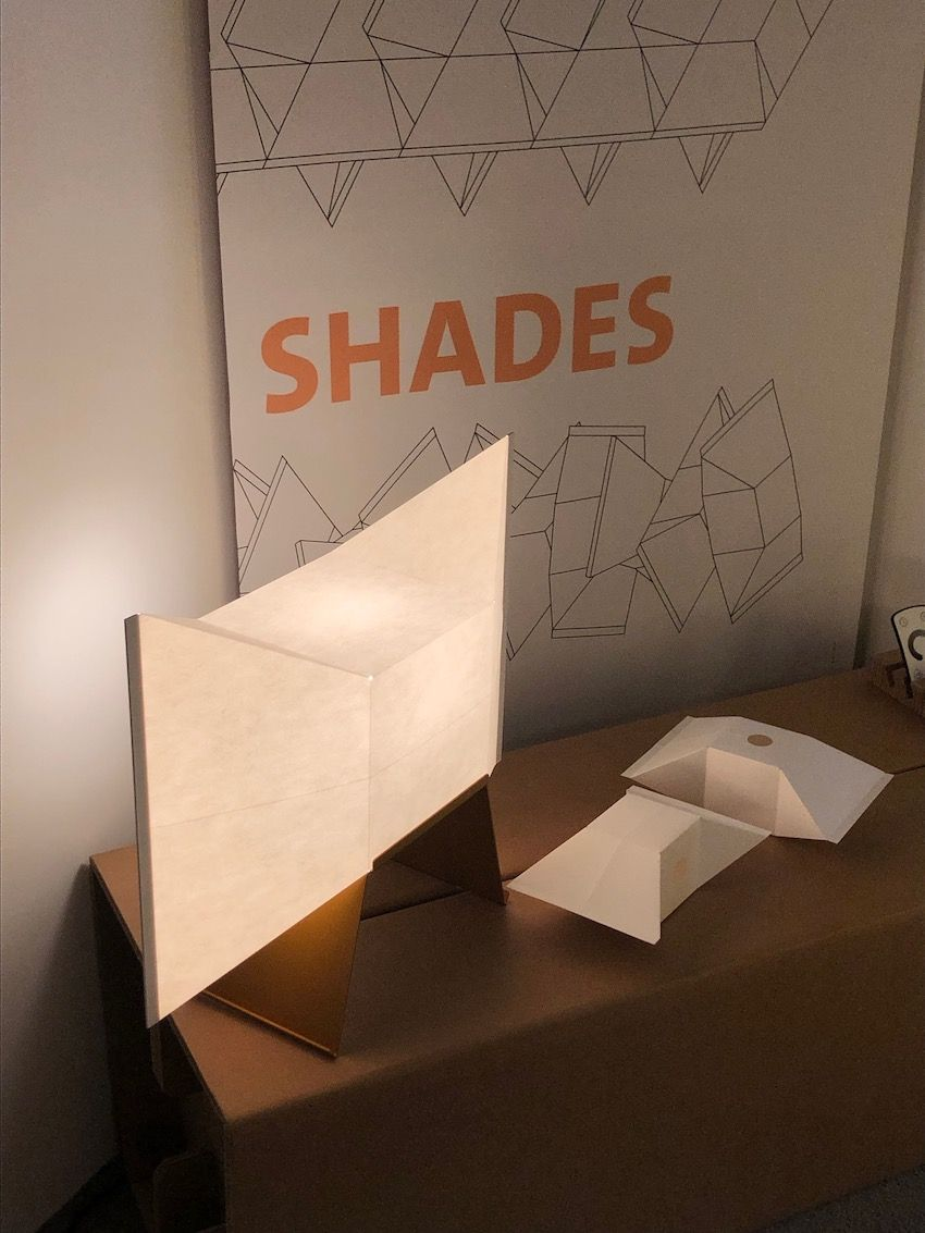 Customizable lamps with paper shades are a true winner.
