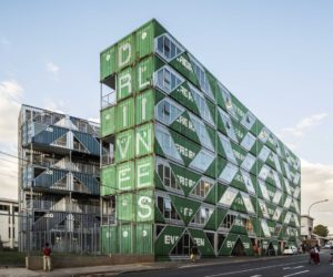 New Residential Building Made Of 140 Reclaimed Shipping Containers