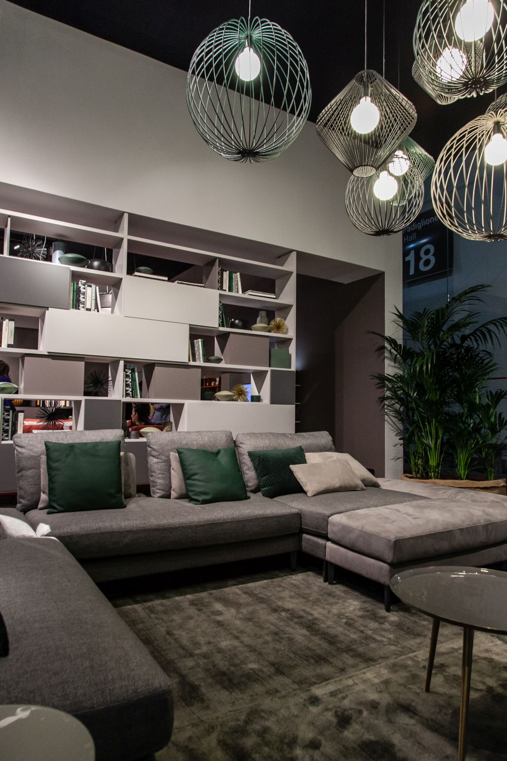 Custom bookcases can be designed to perfectly fit in a designated space and to complement it just right