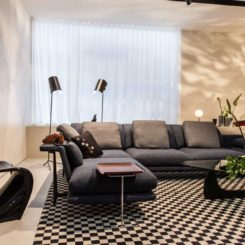 Vitra iconic furniture to decorate the living