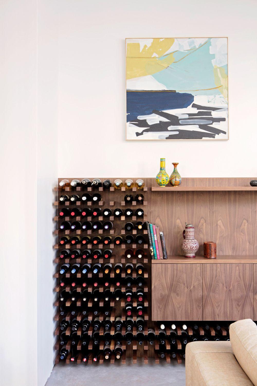 10 Modern Wine Rack Designs With Ingenious Storage Systems