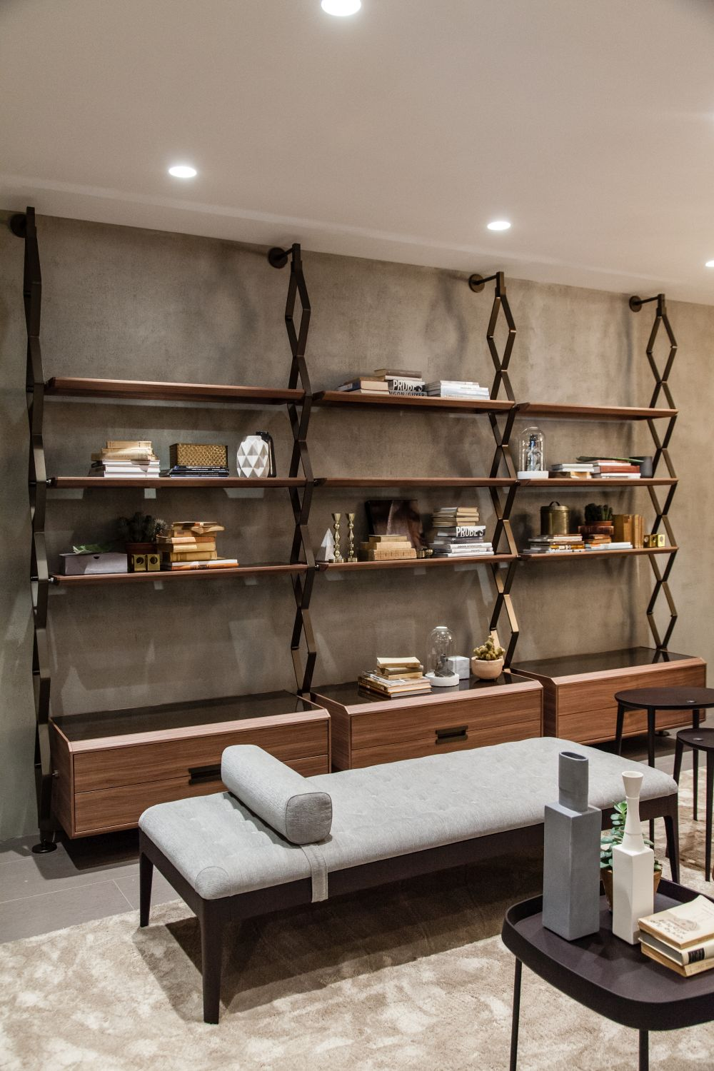 Wall-mounted bookcases come in all shapes, sizes and styles so there really is one for each type of space