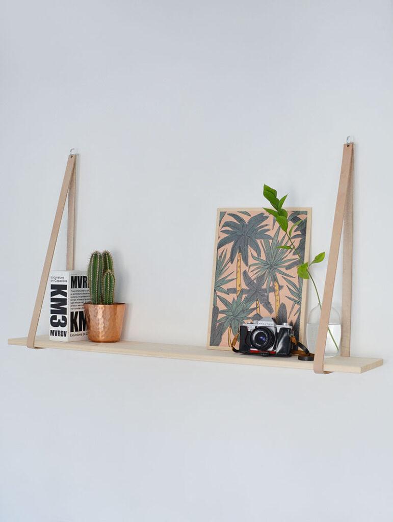 A Hanging DIY Bookshelf