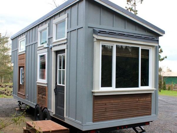 A Tiny Home with a Spa Bathroom exterior