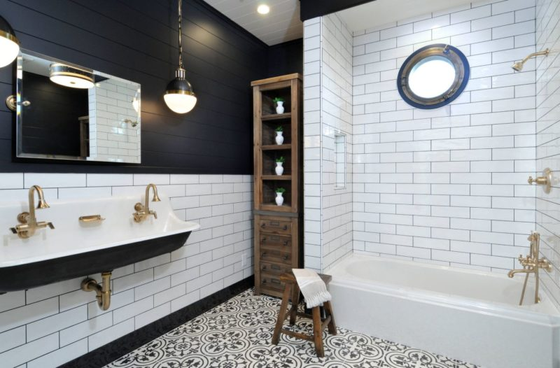 Black and White Bathroom Designs That Show Simple Can Also Be Interesting