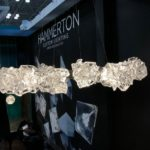 Ethereal cloud-like glass forms make up this spectacular chandelier.