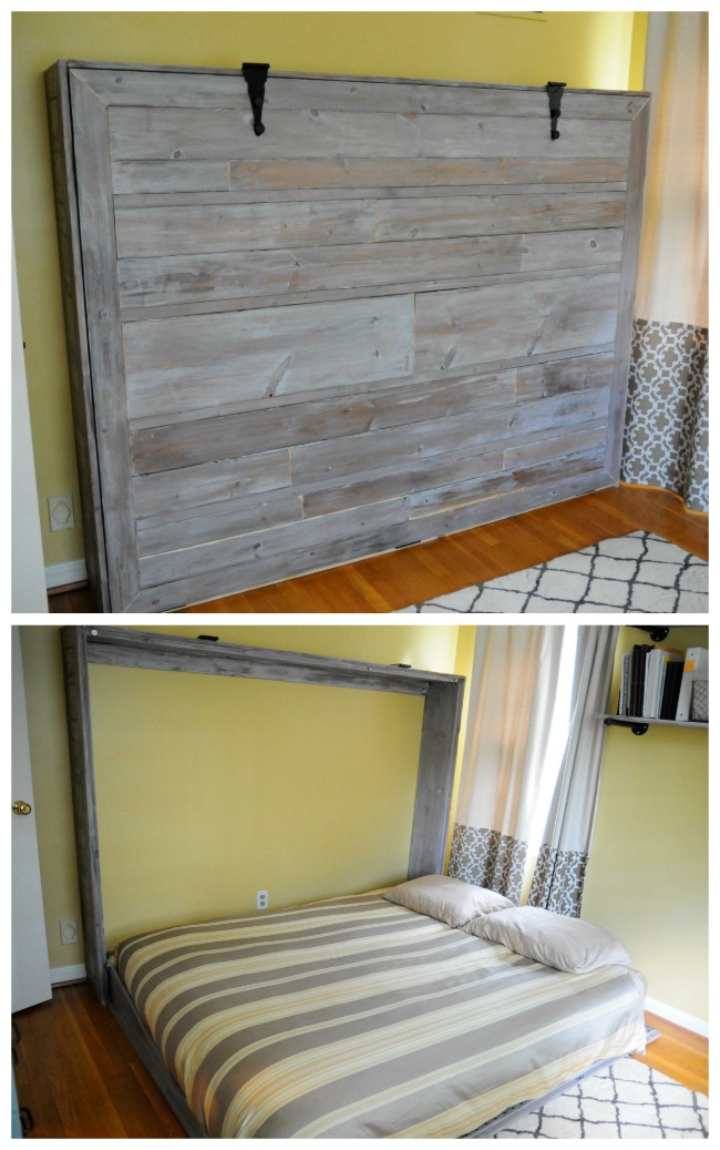 How To Reinvent A Spare Room With A DIY Murphy Bed