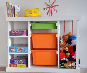 25 Easy, DIY Toy Storage Ideas