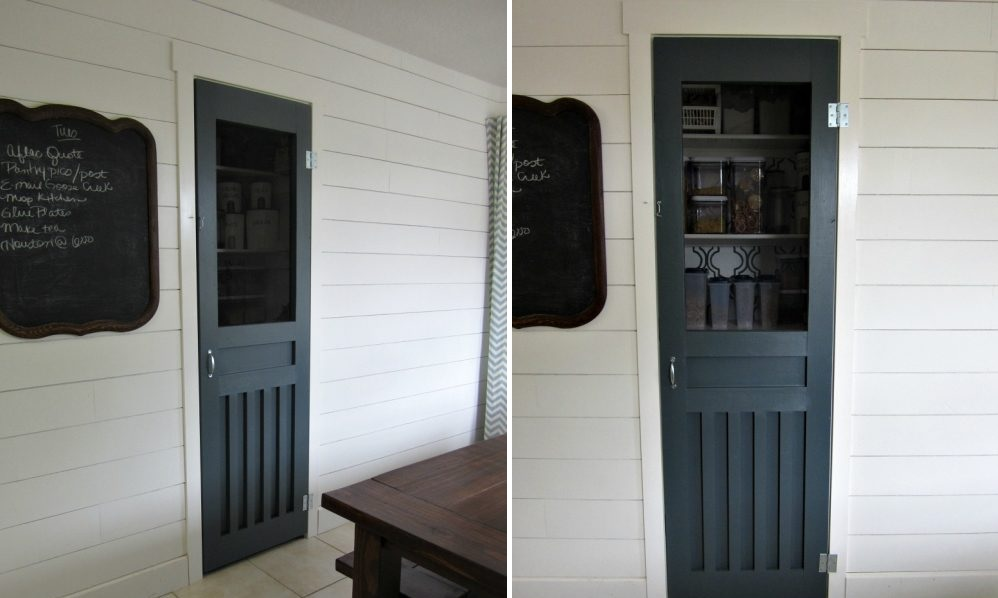 Keep it traditional with a screen door