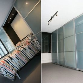 Diy Wardrobe wall bed
