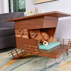 Dog tower house