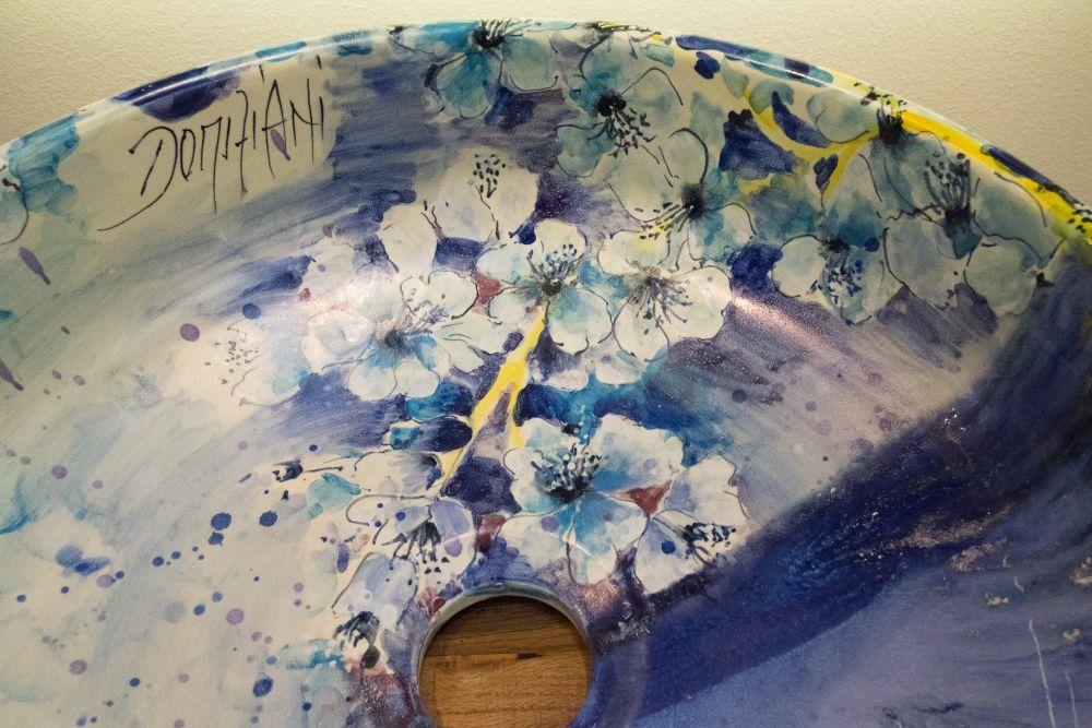 Domiziani colorful wash basin