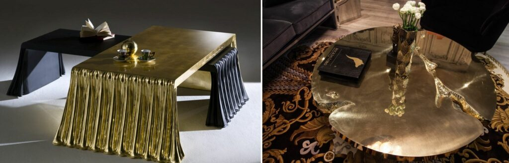 Gold Coffee Tables