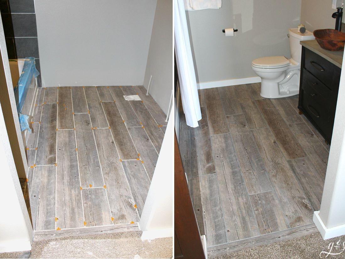 How To Update Your Bathroom Floor Tiles - 6 DIY Ideas