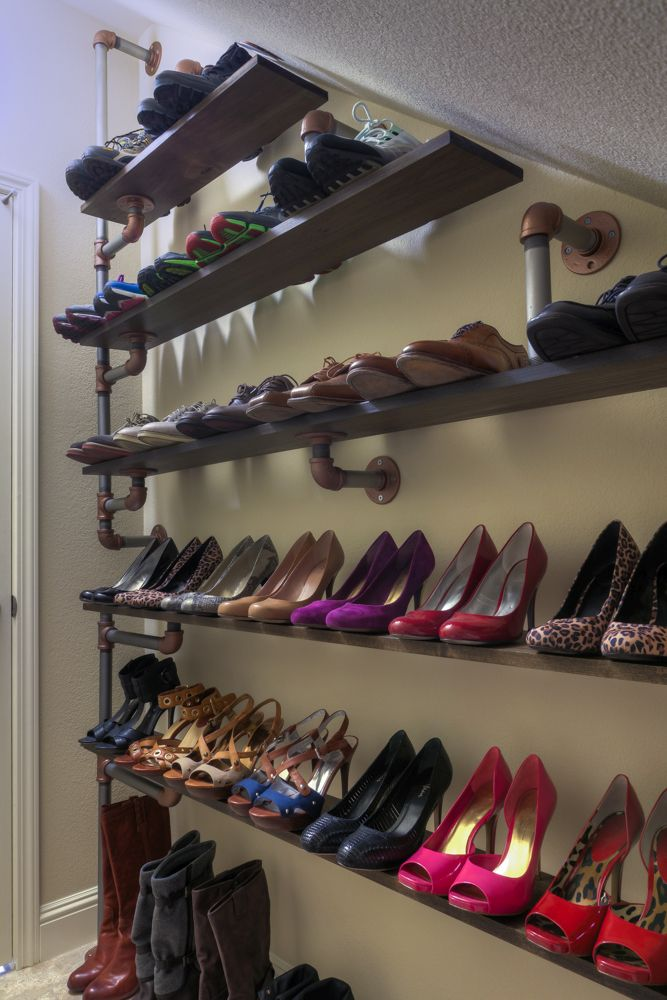 10 DIY Shoe Rack Ideas For The Perfect Entryway Makeover