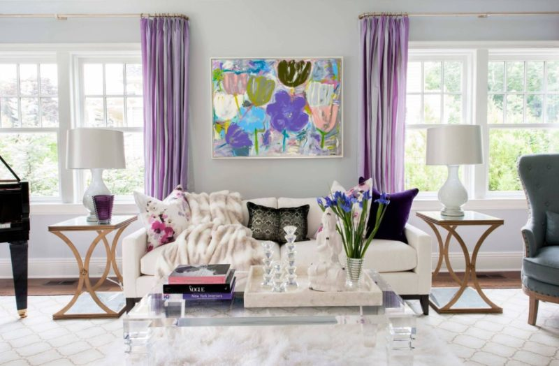 A Dozen Cool Ways To Bring Purple Into Your Home