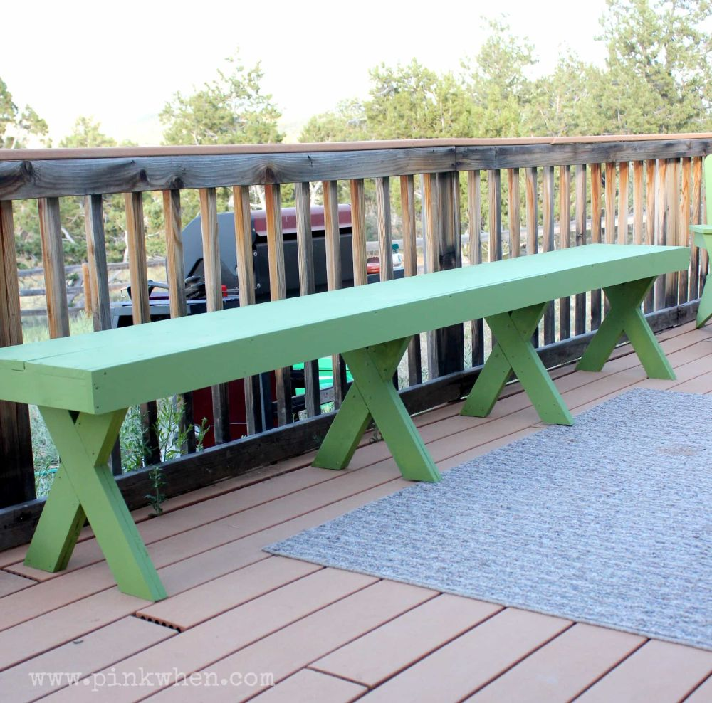 20 Simple And Inviting Diy Outdoor Bench Ideas