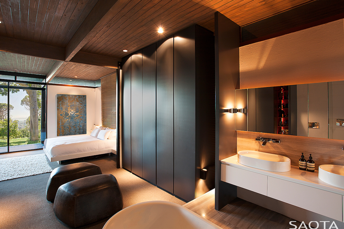 New master bedrooms incorporate the bathroom.