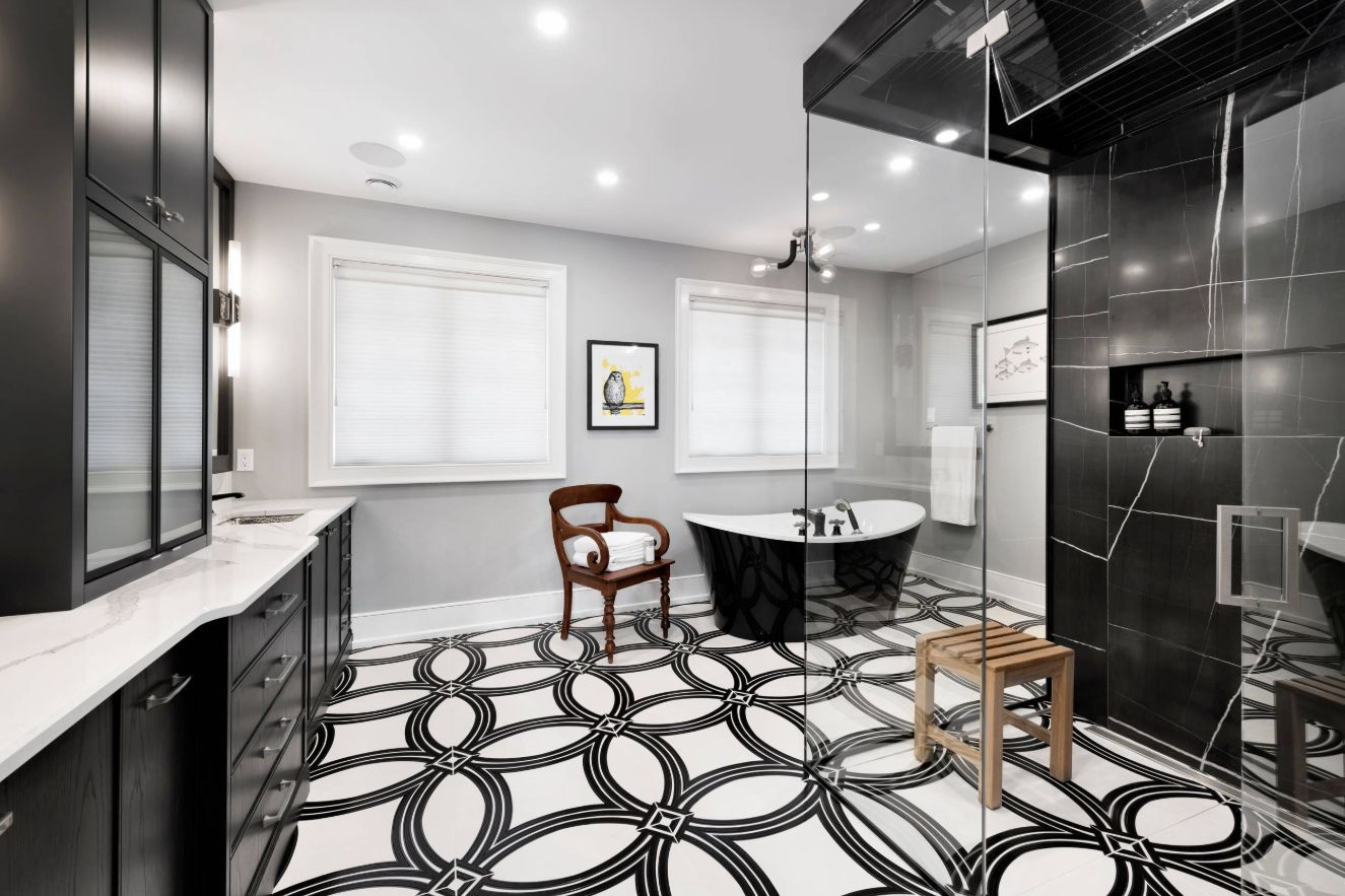 Black And White Bathroom Designs That Show Simple Can Also Be
