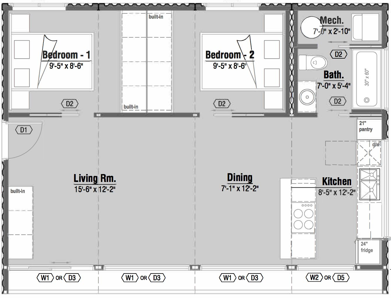 Efficient Floor Plan Ideas Inspired By Shipping Container