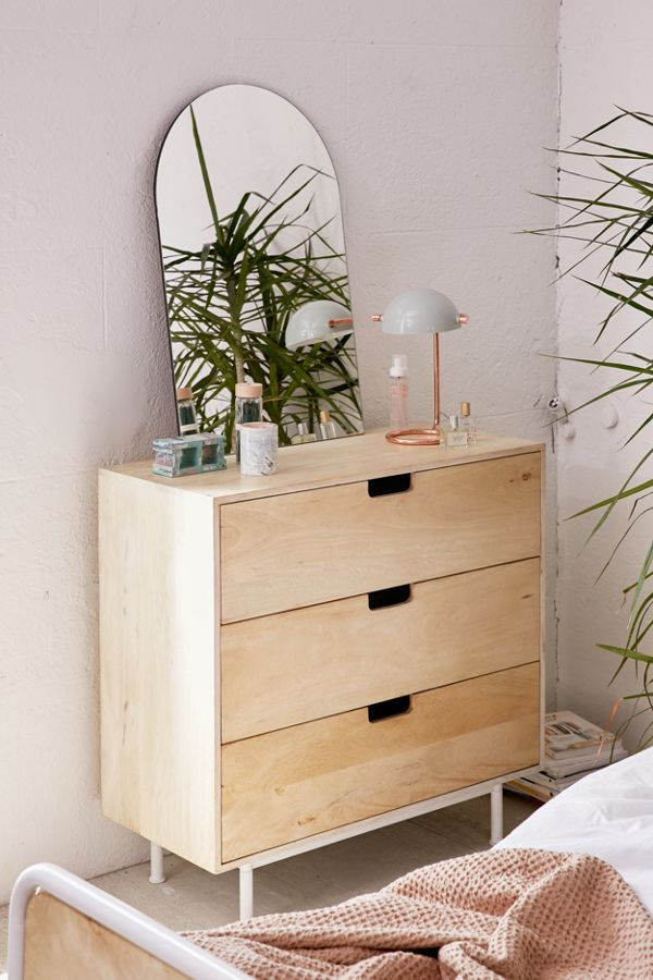 Versatile chest of drawers made of tropical mango wood
